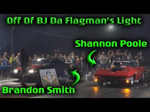 Shannon Poole VS Brandon Smith In Anonymous  BJ Da Falgman's Flashlight at Pickwick Dragway  (4k)