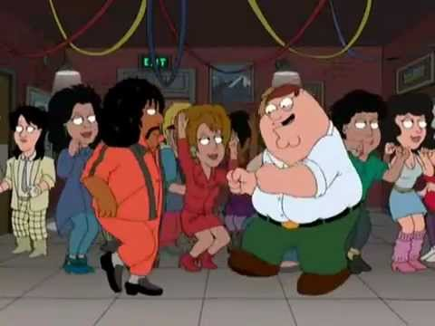 Peter Griffin Singing and Dancing