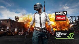 PUBG on AMD ATHLON II X4 860K GTX 1050 Gameplay and FPS check