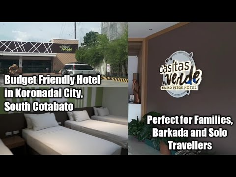 Casitas Verde Hotel In Koronadal City, South Cotabato | First Impression Review |  Ep 2