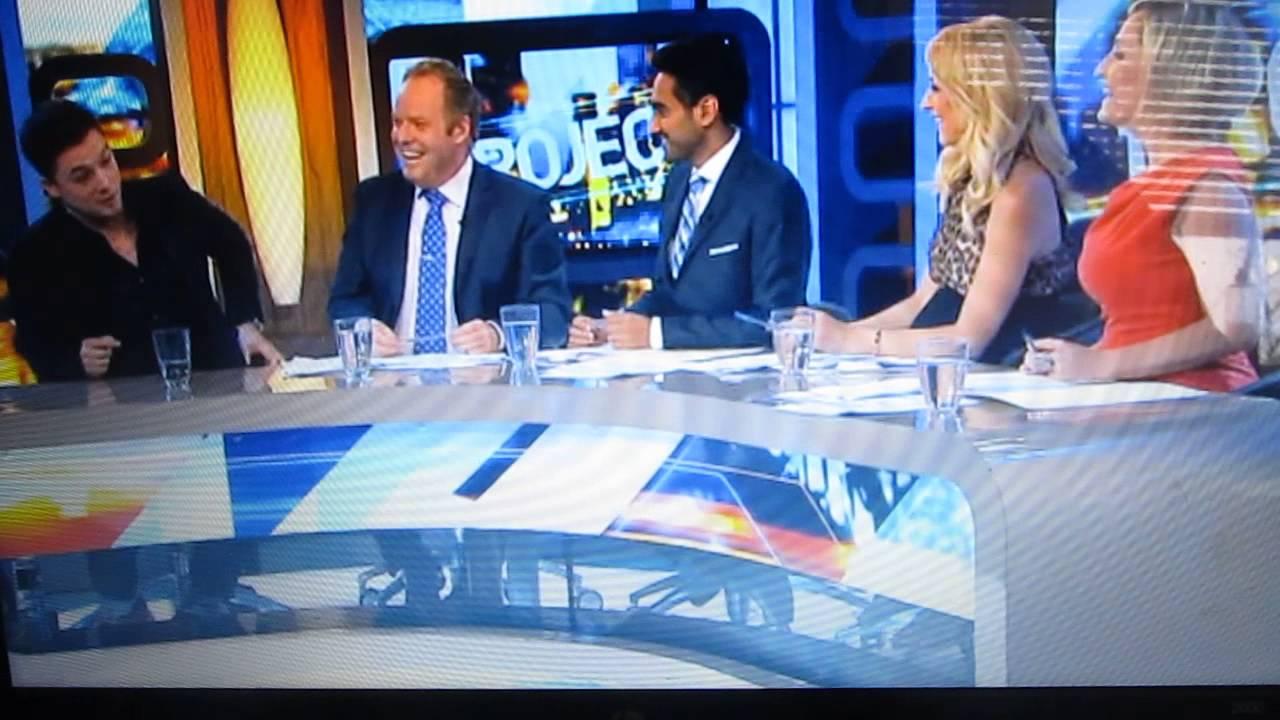 """Taron Egerton on Australia's """"The Project"""""""