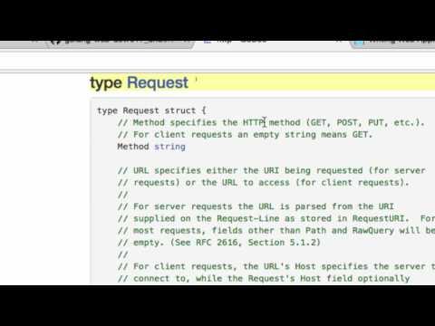 Understanding Golang Net HTTP package