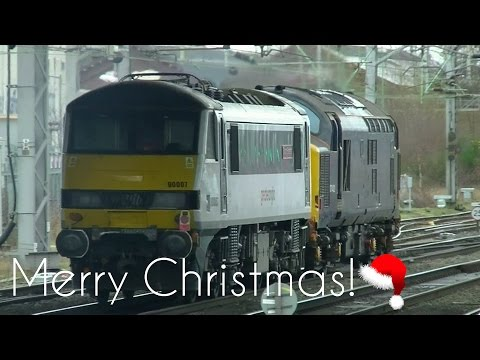 Stafford Station - From Dawn to Dusk - 23rd December 2016