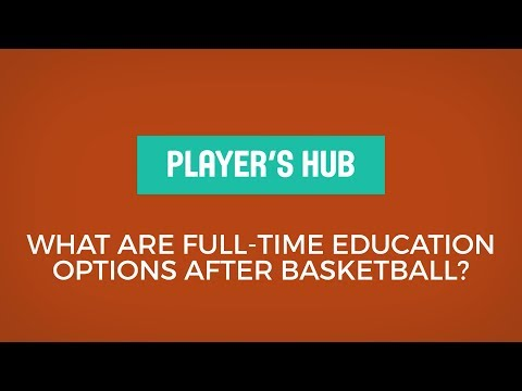 Katie Smith - What are full-time education options after basketball?