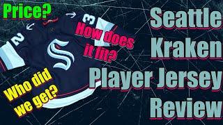 Seattle Kraken Player Jersey Review! (Spoilers, We Love It!)
