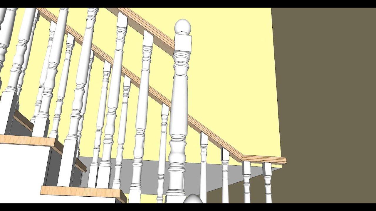 Escalera de madera carpinteria santa clara youtube - Carpinteria santa clara ...