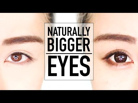 Beginners Bigger Eyes Drugstore Makeup Tutorial ♥ Perfect for Hooded Eyes & Asian Eyes ♥ Wengie