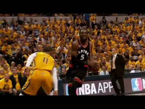 Best of Playoffs Phantom: Toronto Raptors vs Indiana Pacers Game 3