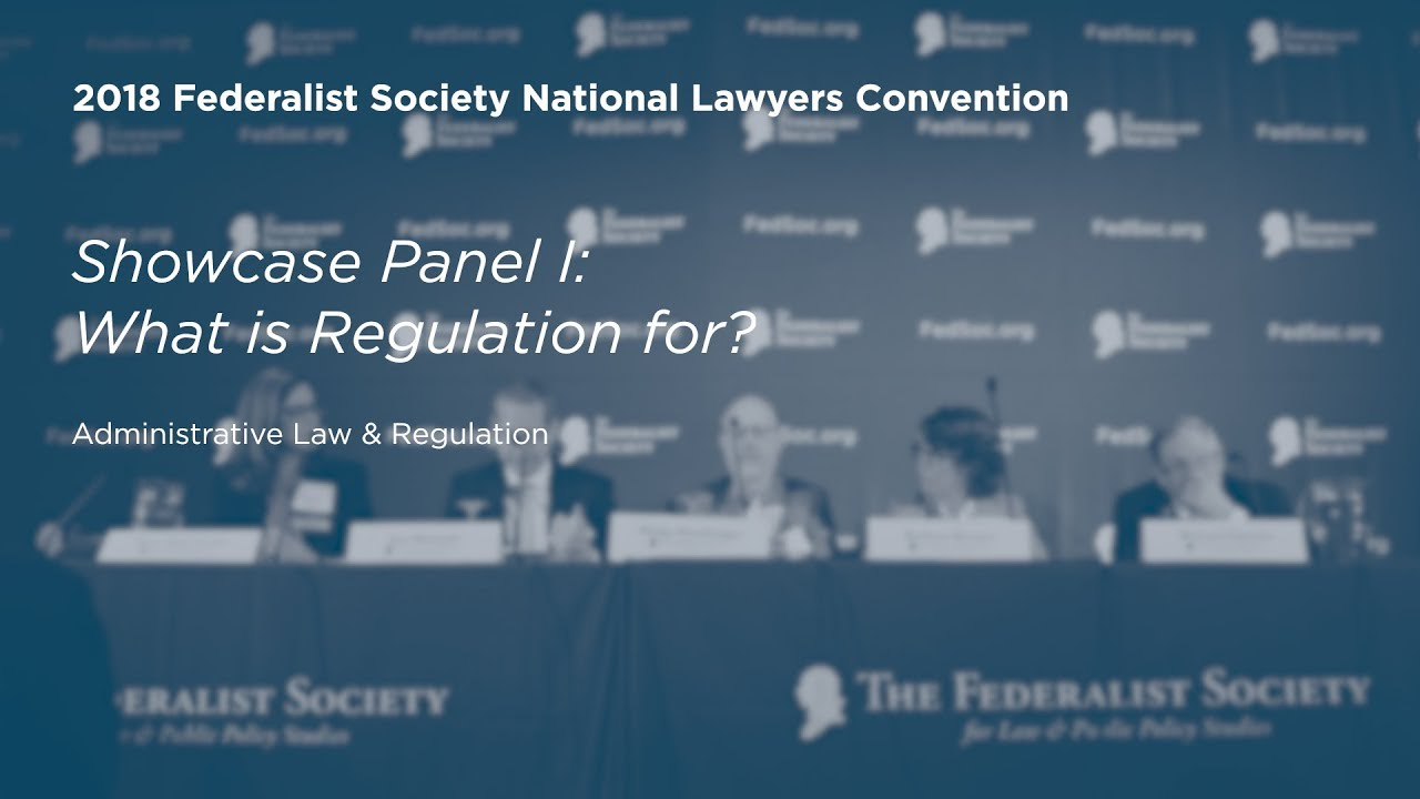 Ancor Coalition Urge Fda To Act On Banning Electronic Shock >> 2018 National Lawyers Convention The Federalist Society