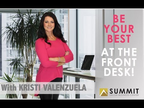 "HOW TO BE YOUR BEST AT THE FRONT DESK - Episode 1 - Throw away the word ""RECEPTIONIST"" forever!"