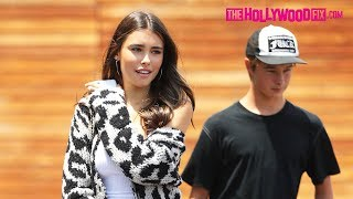Madison Beer Suffers From An Unfortunate Flu While Shopping With Friends At Maxfield 7.18.18