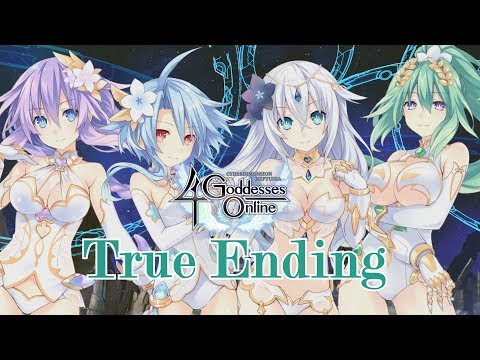 True Ending & Thank You Scenes - Cyberdimension Neptunia 4 Goddesses Online [English, Full 1080p HD]