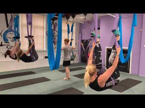 Aerial Pilates High Hammock