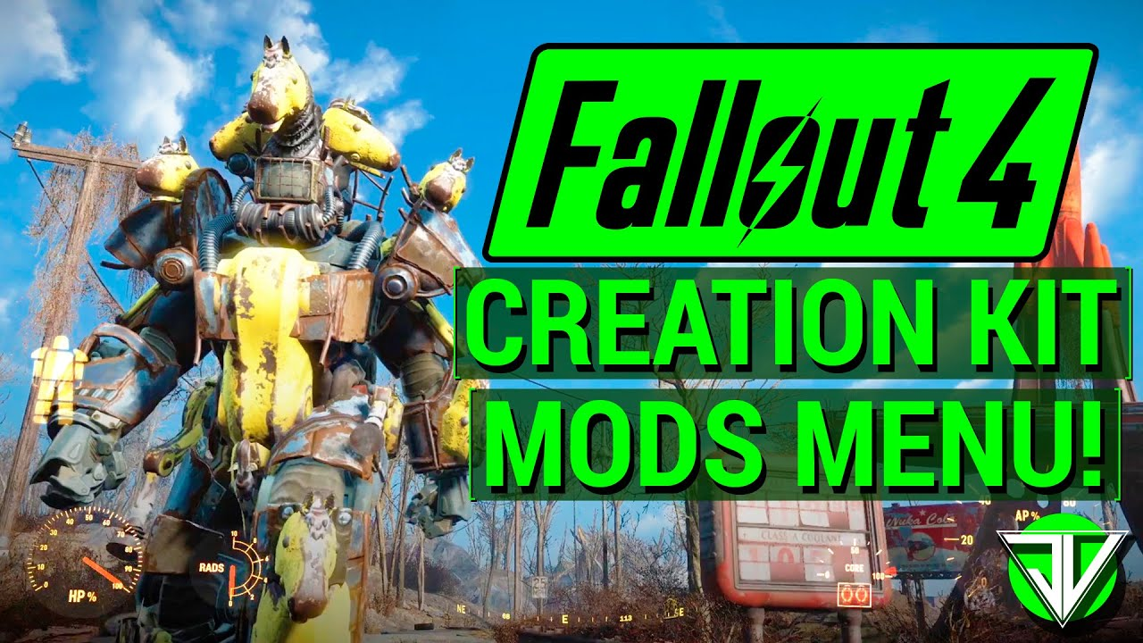 Fallout 4 new creation kit mods menu and console mods release announced open beta on pc - What consoles will fallout 4 be on ...