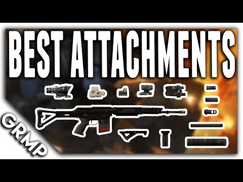 Best Attachments 2018 | Rainbow Six Siege Tips