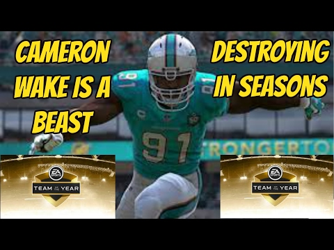 93 OVR TOTY CAMERON WAKE IS A BEAST-MADDEN 17 MUT