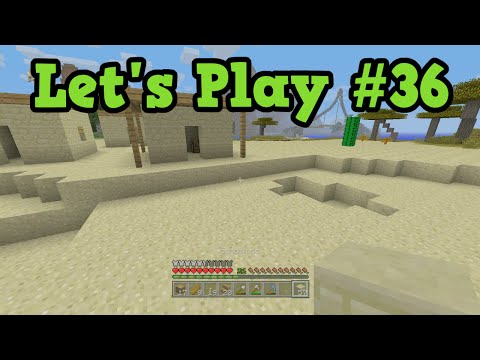 Minecraft Lets Play TU38 #36 - Slum Town Build project