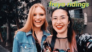 FREYA RIDINGS Interview- performing on the streets to signing record deal, difficulty in school Video