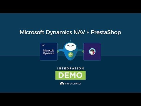Microsoft Dynamics NAV and PrestaShop Integration   APPSeCONNECT