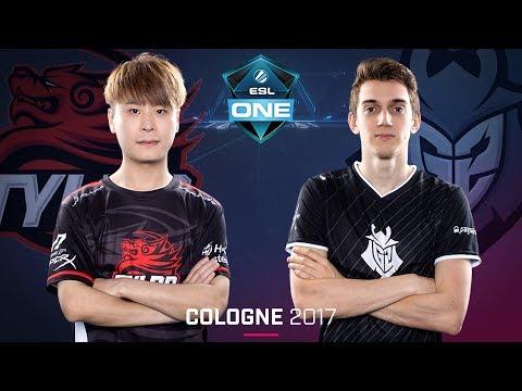 CS:GO - Tyloo vs. G2 [Cache] - Swiss Round 1 - ESL One Cologne 2017