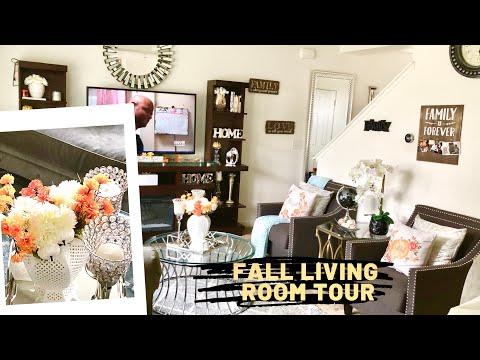 Fall living room tour/ Fall house tour