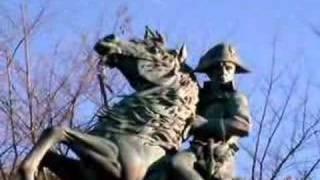 アルプス越えのナポレオン.