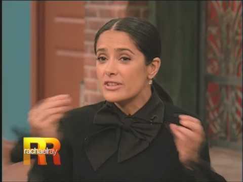 Salma Hayek on RACHAEL RAY show