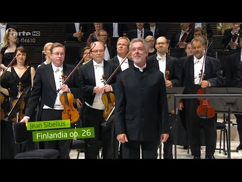 Sibelius: Finlandia - Jukka-Pekka Saraste  - The inauguration of the Helsinki Music Centre
