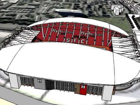 st. marys stadium extention