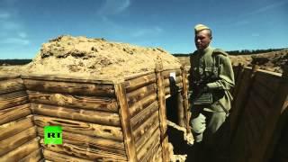 На форуме «Армия-2015» реконструировали битву Великой Отечественной войны