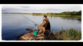 ЛОВЛЯ ЛЕЩА на водохранилище Рыбалка с ночёвкой на Алесандровском водохранилище Рыбалка на донки
