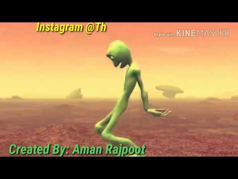 Bum Diggy Diggy Bom feat Dame Tu Cosita | Zack Knight | Funny Alien Dance