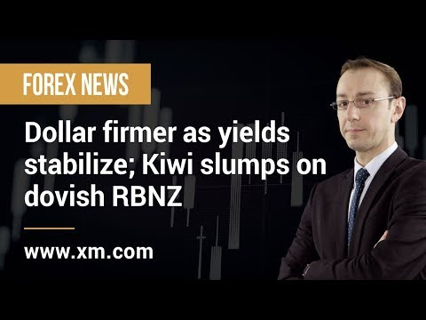 Forex News: 27/03/2019 - Dollar firmer as yields stabilize; Kiwi slumps on dovish RBNZ