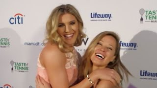 Spicy or Cheesy? Genie Bouchard's Favorite Pick-Up Lines