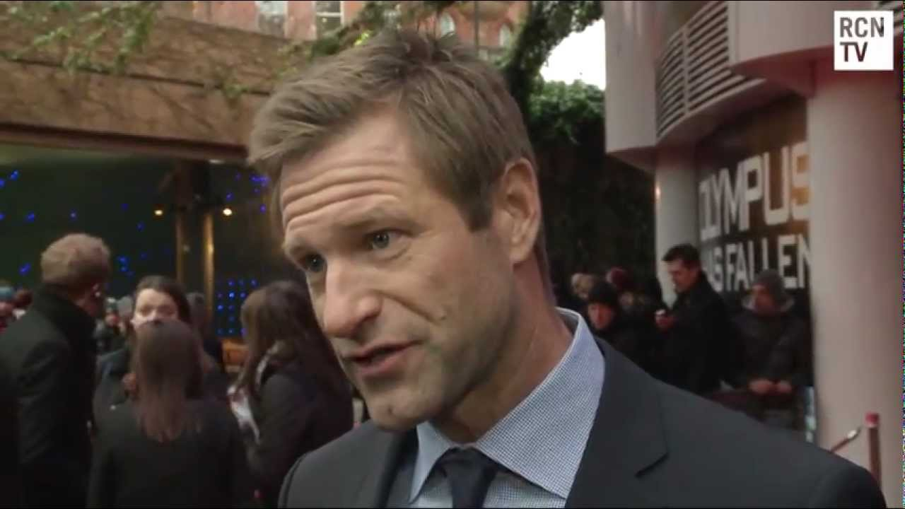 Aaron Eckhart Interview Olympus Has Fallen European ...