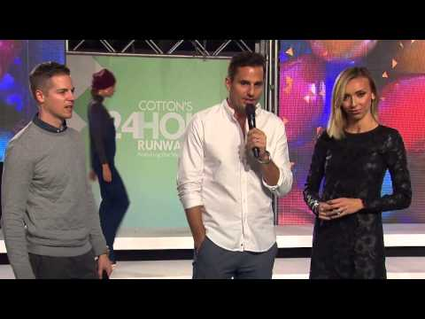 Jason Kennedy, Giuliana & Bill Rancic wish Miami Beach a 100th Birthday Day at Cotton Runway Show!