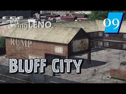 Cities Skylines: Bluff City (Ep: 09) The Rump Motel
