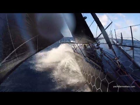 Vendée Globe: Äquatortaufe - powered by Yachtfernsehen.com