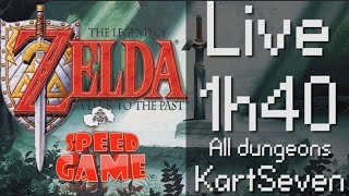 Speed Game: Live Zelda 3 ALTTP par KartSeven
