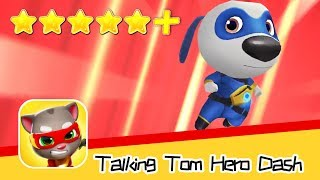 Talking Tom Hero Dash Day13 Walkthrough Hank's Map Recommend index five stars+
