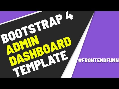Bootstrap 4 Admin Dashboard Template - Web Development