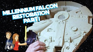 Star Wars Vintage Millennium Falcon Restoration - Part 1/5 Kenner Toy