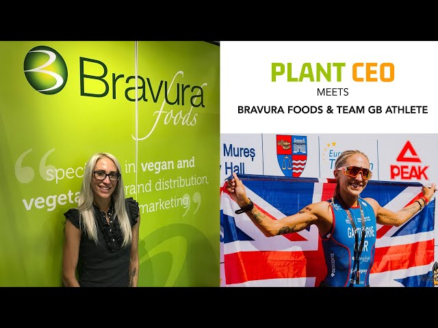 PLANT CEO #4 -Team GB Athlete talks plant-based diet & her food company