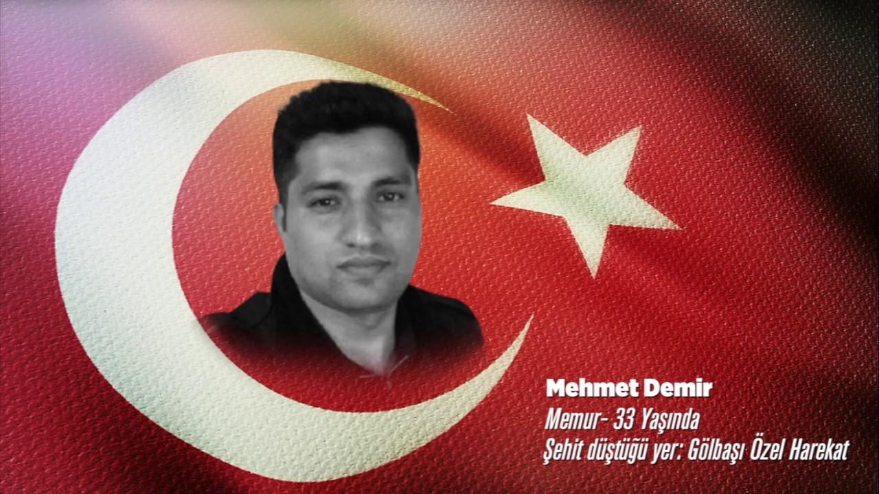 15 Temmuz Şehidi Mehmet Demir