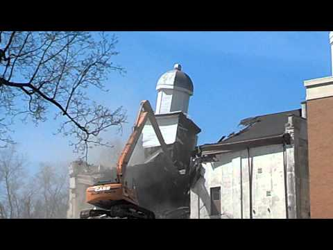 Union County Courthouse torn down.