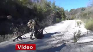 Расстрел пилотов Cу-24 боевиками в Сирии  24.11.2015