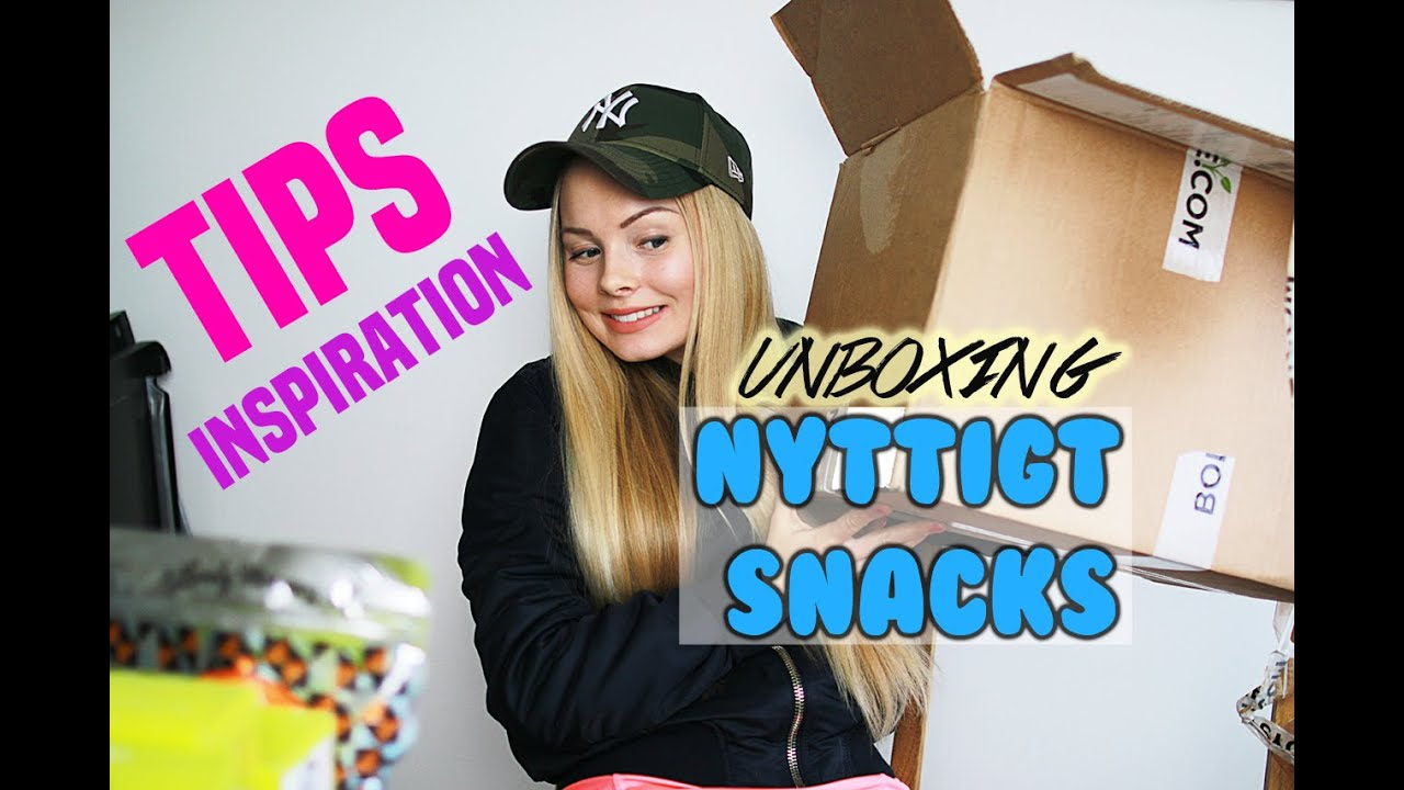 Unboxing  Nyttigt snacks  b0c6099a06bc5