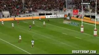 Tries in France 2011 2012 day 12 Toulouse - Toulon