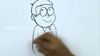 How to Draw a Nobita