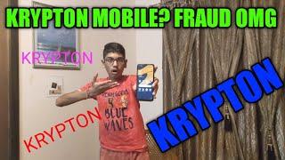 Krypton Mobile Unboxing? OMG 😍! BIG FRAUD.